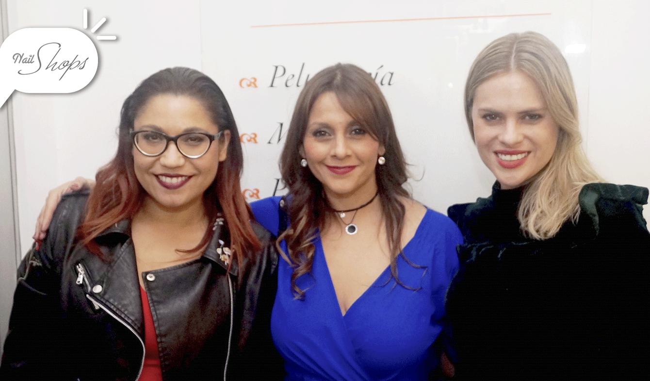 Alejandra Valle, Paulina Hidalgo y Eliana Albasetti